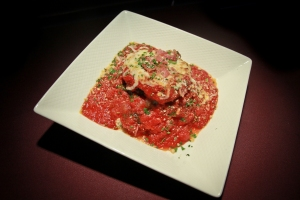 Stuffed Eggplant Appetizer